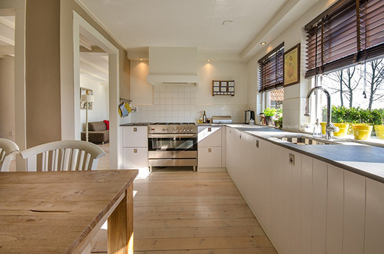 The Kitchen Is Prone To Hot Spills From Water And Oil And Is Very Much  Prone To Wear And Tear. Investing In Good Kitchen Flooring Is Necessary  Especially If ...